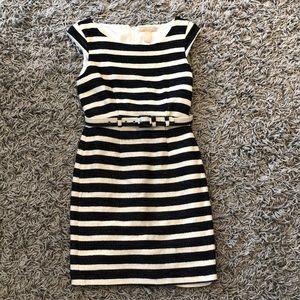 Lovely Navy striped dress